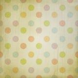 Fondo del Grunge con los puntos en colores pastel Imagen de archivo
