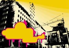 Fondo del grunge de la fábrica Imagen de archivo libre de regalías