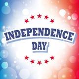 Fondo del grunge de la independencia Day Imagen de archivo libre de regalías