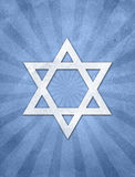 Fondo del grunge de Starburst del judaísmo Fotos de archivo