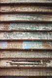 Fondo del Grunge de verracos de madera coloreados Foto de archivo
