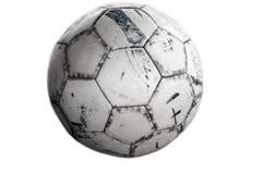 Fondo del grunge del fútbol Foto de archivo libre de regalías