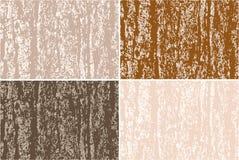 Fondo del grunge del vector Vieja textura del árbol de corteza libre illustration