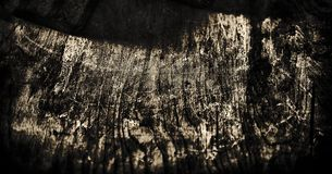 Fondo del Grunge, vieja textura de madera negra para el fondo Fotografía de archivo