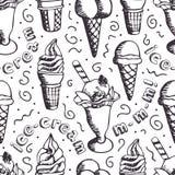 Fondo del helado ilustración del vector