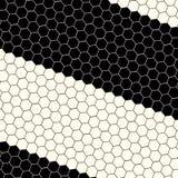Fondo del hexágono de la ciencia abstracta Imagen de archivo