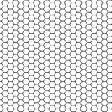 Fondo del hexágono de la ciencia abstracta Fotos de archivo