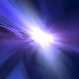 Fondo del horizonte del espacio de la estrella Imágenes de archivo libres de regalías