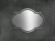 Fondo del hormigón y del metal del Grunge Imagen de archivo