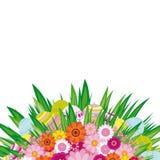 Fondo del huevo de Pascua. Imagen de archivo libre de regalías