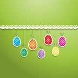 Fondo del huevo de Pascua Imagen de archivo