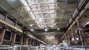 Fondo del hyperlapse de Warehouse