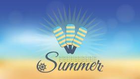 Fondo del inconformista de la falta de definición del verano Imagen de archivo libre de regalías