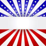 Fondo del indicador americano Fotos de archivo libres de regalías