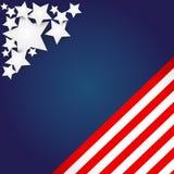 Fondo del indicador americano Imagenes de archivo