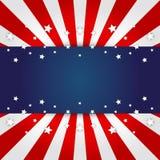 Fondo del indicador americano Fotografía de archivo libre de regalías