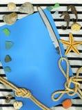 Fondo del infante de marina de la vendimia Imagen de archivo libre de regalías