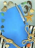 Fondo del infante de marina de la vendimia Fotografía de archivo libre de regalías