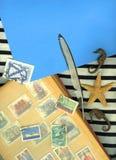 Fondo del infante de marina de la vendimia Fotos de archivo