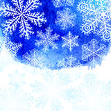 Fondo del invierno Fotos de archivo