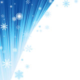 Fondo del invierno Imagen de archivo
