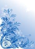 Fondo del invierno stock de ilustración
