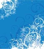 Fondo del invierno ilustración del vector