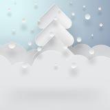 Fondo del invierno Foto de archivo libre de regalías