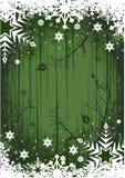 Fondo del invierno de Grunge Imágenes de archivo libres de regalías
