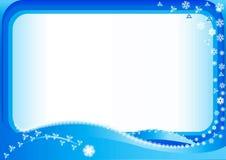 Fondo del invierno de la Navidad Fotos de archivo