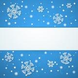 Fondo del invierno. Ejemplo del vector. Fotografía de archivo