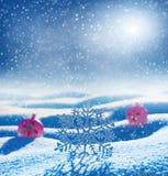 Fondo del invierno para el diseño Imagenes de archivo