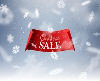 Fondo del invierno para la tarjeta de felicitación de la Navidad Vector eps10 stock de ilustración
