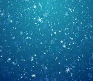 Fondo del invierno, ventiscas Imagen de archivo libre de regalías