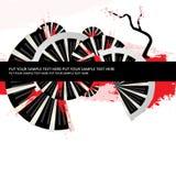 Fondo del japonés del texto de la muestra Imagenes de archivo