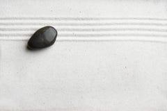 Fondo del jardín de roca del zen foto de archivo libre de regalías
