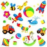 Fondo del juguete para los niños Imagen de archivo libre de regalías