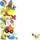 Fondo del juguete para los niños Fotografía de archivo libre de regalías