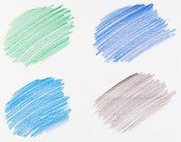 Fondo del lápiz Imagen de archivo libre de regalías