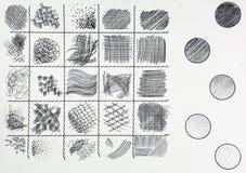 Fondo del lápiz Imágenes de archivo libres de regalías