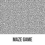 Fondo del laberinto Maze Game Concept Fotografía de archivo