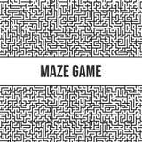 Fondo del laberinto Maze Game Concept Imagen de archivo
