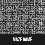 Fondo del laberinto Maze Game Concept Fotos de archivo libres de regalías