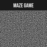 Fondo del laberinto Maze Game Concept Foto de archivo libre de regalías