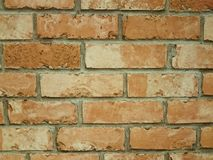 Fondo del ladrillo de la pared Fotografía de archivo libre de regalías