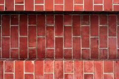 Fondo del ladrillo rojo, papel pintado del ladrillo rojo Fotografía de archivo