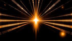 Fondo del lazo de la estrella del tablero de las luces del centelleo de la música del funcionamiento de las ondas acústicas stock de ilustración