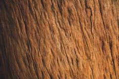 Fondo del legno duro di Brown Fotografia Stock Libera da Diritti