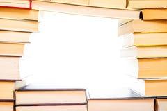 Fondo del libro fotografia stock