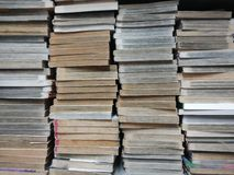 Fondo del libro viejo Fotografía de archivo libre de regalías